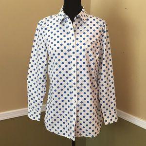 Boden  Size 12L Long Sleeve Button Down Shirt